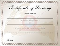 Professional Certificates Templates Professional Development Certificate Of Completion Template