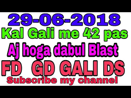 Ghaziabad Chart 2018 Videos Matching 29 June All Game Satta Game Chart
