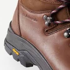 kathmandu tiber womens ngx water resistant leather hiking boots shoes