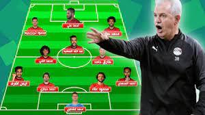 تشكيلة المنتخب المصري المحتملة في مباراة مصر ضد الكونغو الديمقراطية في كأس  افريقيا 2019 - YouTube