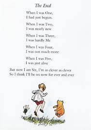 Aa Milne Birthday Quotes poem The End Illustrations for Children's Books Pinterest 5