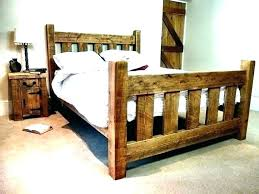 distressed bed frame – aftermidnight.co