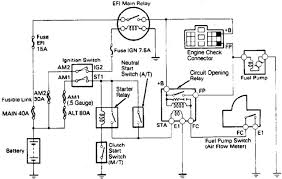 toyota runner fuel pump wiring diagram