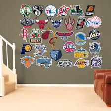 nba logo collection fathead wall decals wall decals canada 10