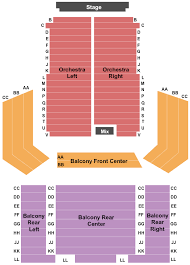 Charles E Smith Center Seating Chart Eichelberger Performing Arts Center Seating Chart Hanover