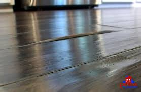 buckled wood flooring