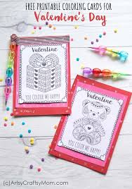 Or, download customizable versions for just $4.00. Free Printable Coloring Cards For Valentine S Day