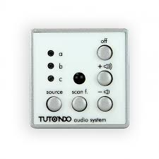 stereo audio in wall control unit 3 stereo sources