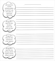 Free 9 Useful Writing Templates In Pdf