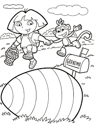 Dora Coloring Pages Getcoloringpagescom