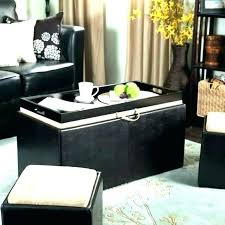 oversized leather ottoman. Wonderful Leather Square Ottoman Coffee Table Black Leather Oversized   To R