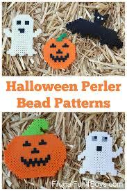 Halloween Perler Bead Patterns Gorgeous Halloween Perler Bead Patterns Frugal Fun For Boys And Girls