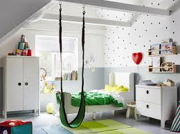 wardrobe furniture ikea. A Childrenu0027s Bedroom Furnished With White Extendable Bed Wardrobe And Chest Of Furniture Ikea
