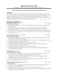 Resume Science Resume Template