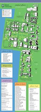 tulane university  student affairs map