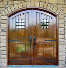 open arched double doors. 1024: Alder, Arched Double Door Entry With Wrought Iron Accents Open Doors