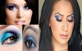 eye makeup tutorial for blue eyes smokey eyes blue how to do a blue smokey eye with binky