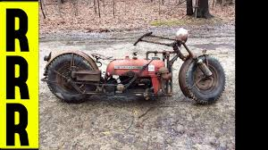 custom chopper tractor bike hand built rat bike custom