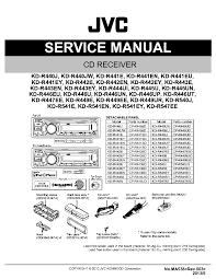 jvc kd sr kd sr service manual schematics jvc
