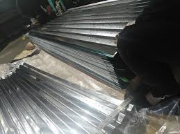 china wave type q235b corrugated galvanized steel roofing sheet small plastic metal iron roof siding sheets