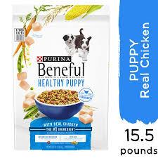 Beneful Healthy Puppy Feeding Chart Purina Beneful Dry Puppy Food Healthy Puppy With Real