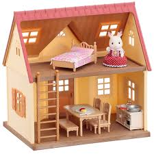 Sylvanian Families Bedroom Furniture Set Sylvanian Families Cosy Cottage Starter Home Toys R Us