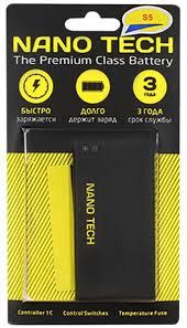 <b>аккумулятор Nano Tech</b> для Samsung i9600/S5 по самой ...
