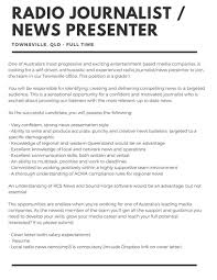 job blog writing your cv syn media a job advertised online at a commercial news organisation