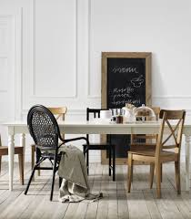 with an extendable table there s aways room to pull up an extra chair the ikea ingatorp extendable table easily expands to make room for more guests