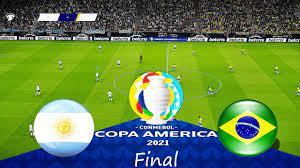 ARGENTINA vs BRAZIL 4-0 FINAL COPA ...