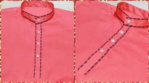 Piping Design On Clothes Kurta Piping Design