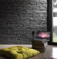 interiors design wallpapers faux stacked stone panels interior best interiors design wallpapers