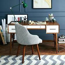 west elm office desk. Brilliant Elm West Elm Desks Office Desk Mid Century Acorn White  Love The Chair And Mini For