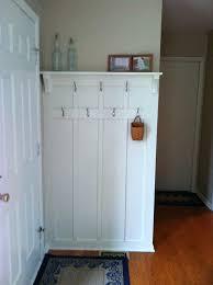 Front Door Coat Rack Front Door Hook Behind The Door Coat Rack Entryway Coat Hanger Ideas 18