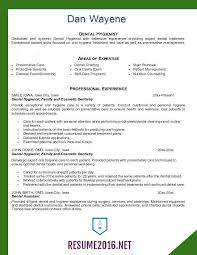 Gallery Of Resume Samples 2016 Archives Resume 2016 Dental