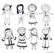Conflict Resolution Coloring Pages Diversity Kairo 9terrains Co 1300