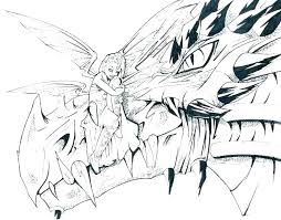 Dragon Coloring Pages For Adults Coloring Book Dragon Colouring