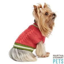 Martha Stewart Pets Knit Sweater Sweaters Coats