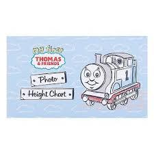 Thomas The Train Growth Chart Hallmark Thomas The Tank Engine Card Height Chart Wall Mounted Growth Chart New 5054655076656 Ebay