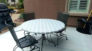 outside table covers outside table covers medium size of accessories stunning round gray vinyl elastic outdoor