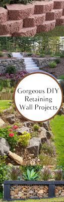 Diy Garden Projects Diy Retaining Walls Diy Retaining Wall Retaining Walls And Walls