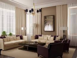beige or purple living room design ideas with beige wall paint pertaining to curtain colors for