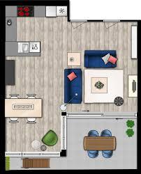 Woonkamer Plattegrond Moderne Huizen