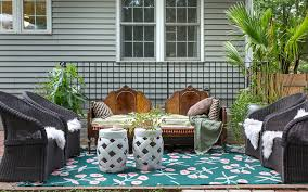 eclectic patio ideas but will it work
