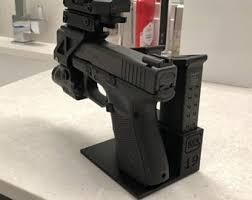 Handgun Display Stand Gun display Etsy 39