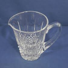 waterford crystal glass kenmare cut water pitcher jug 28 oz
