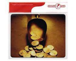 <b>Коврик</b> для мыши <b>Cross PAD CPO</b> 006 (монеты): низкие цены ...