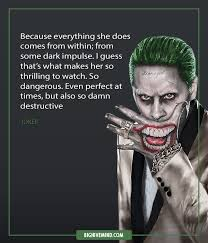 Harley Quinn Quotes Unique For The Joker Quotes Aiyoume