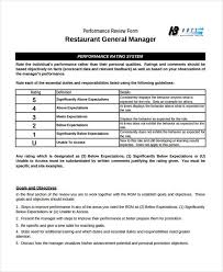 restaurant review examples free 7 sample restaurant evaluation forms pdf