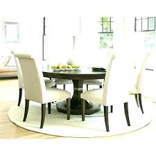 area rugs for kitchen table stunning design ideas round dining table rug under chic and creative